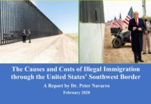 The Causes and Costs of Illegal Immigration through the United States' Southwest Border by Peter Navarro