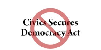 STOP the Civics Secures Democracy Act