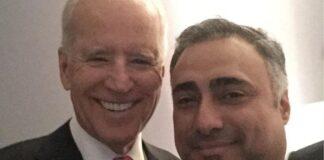Joe Biden and Imaad Zuberi
