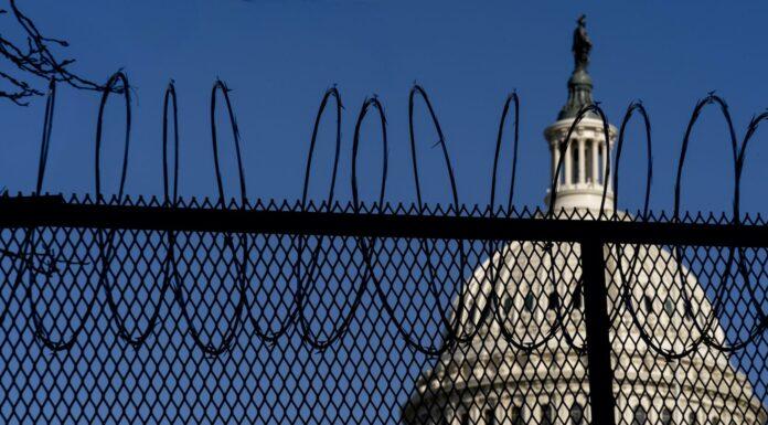 Fencing U.S. Capitol