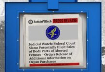 Judicial Watch gets more info about fetus body parts sale