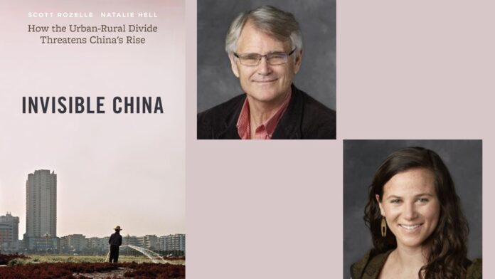 Invisible China By Scott Rozelle & Natalie Hell