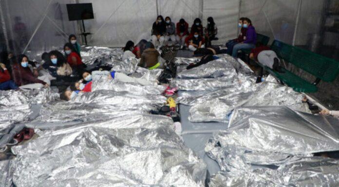 Border Facility for minors at the border