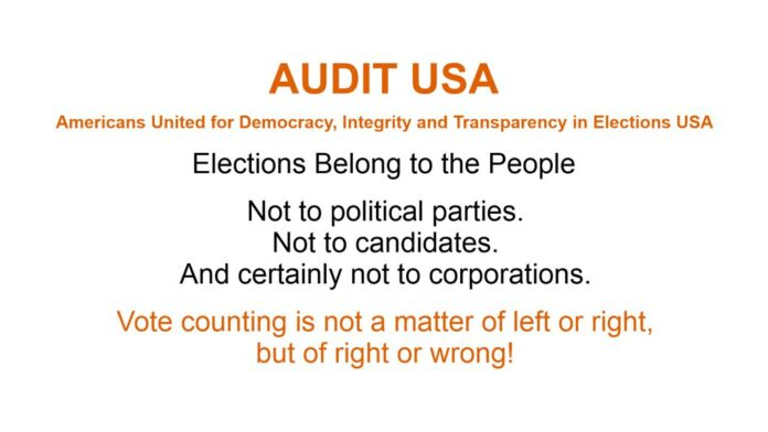 Audit Elections USA