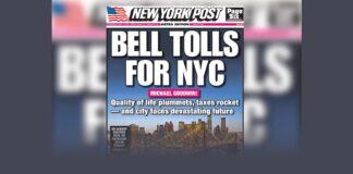 Bell Tolls For New York City