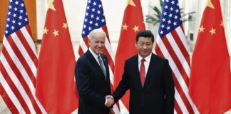 VP President Joe Biden and Xi Jinping