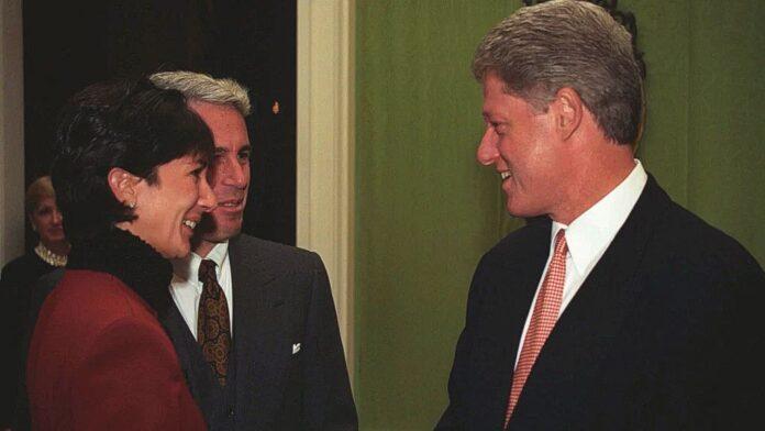 Epstein, Maxwell and President Bill Clinton