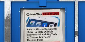 CA State Officials Coordinated with Big Tech