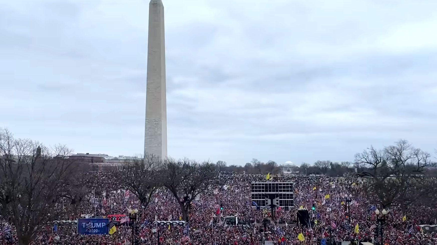 Save America March Crowds Jan 6th