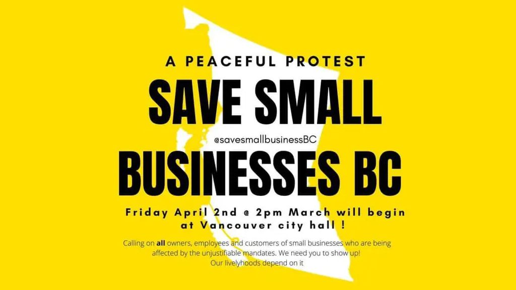 Save Small Businesses BC