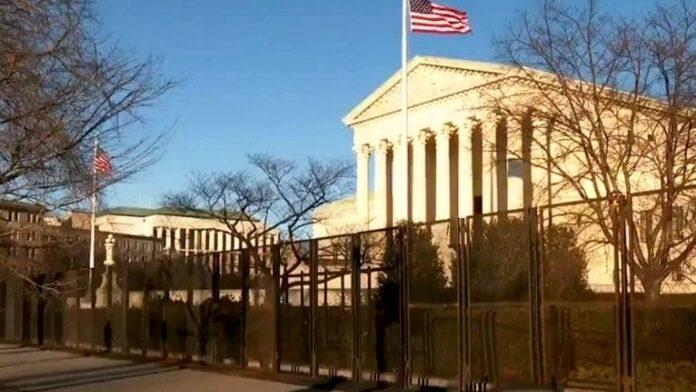 Supreme Court Fenced