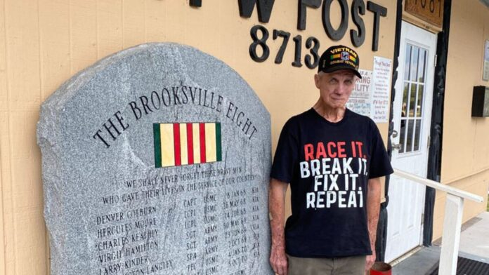 Ron McCombs, retired United States Army