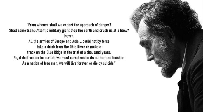 Abraham Lincoln Expect Danger Quote