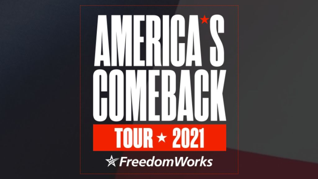 America's Comeback Tour 2021 with Nigel Farage