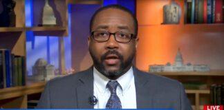 Bishop Garrison on MSNBC