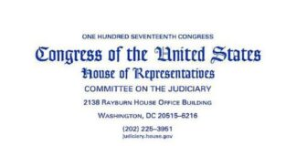 Congress of the U.S. Committee on the Judiciary