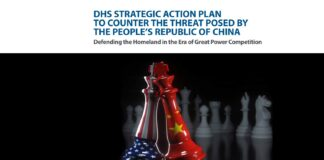 DHS Strategic Action Plan To Counter The Threat Posed By The People's Republic Of China