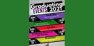 Graduation Events 2021 Poster