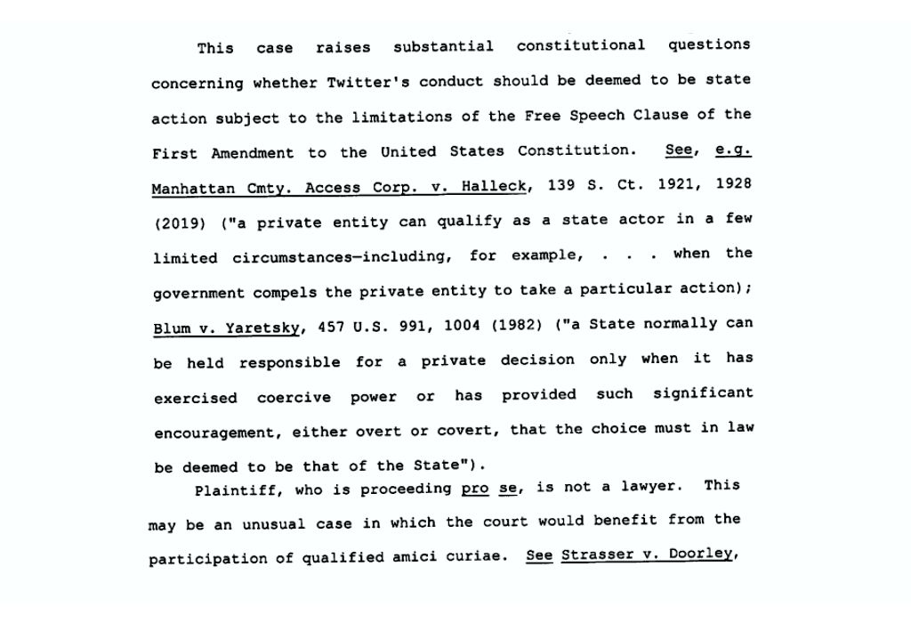 Excerpt from Judge Wolf's latest order: