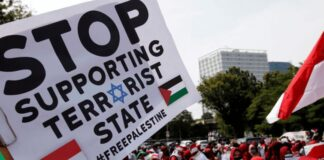 Stop Supporting Terrorist State #Free Palestine