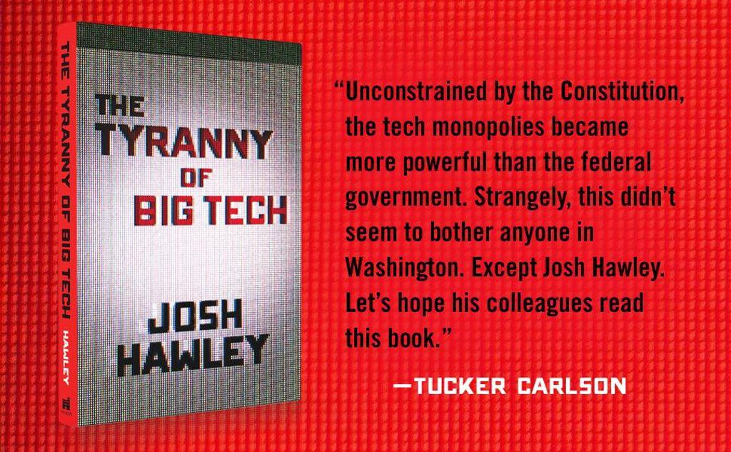 The Tyranny of Big Tech Tucker Carlson Quote
