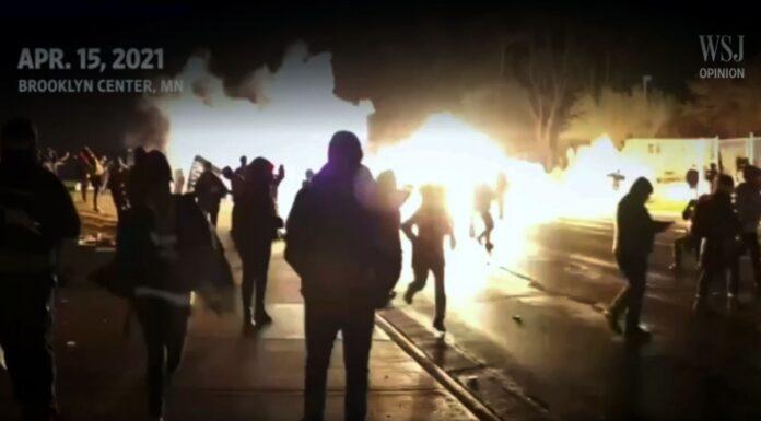 Violence at Brooklyn Center Minneapolis, Minnesota