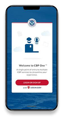 CBP Mobile App Image