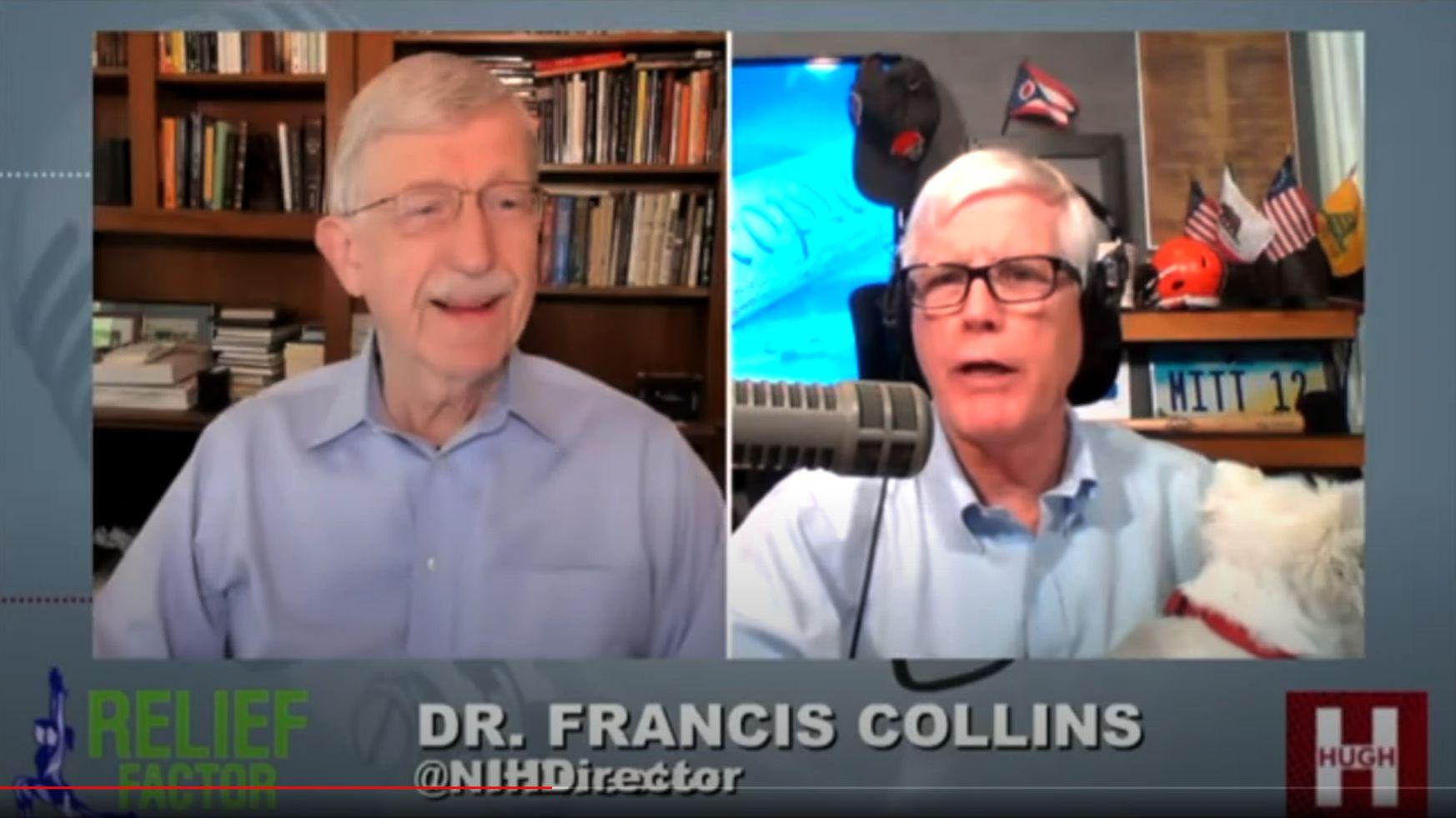 Dr. Francis Collins on Hugh Hewitt Show