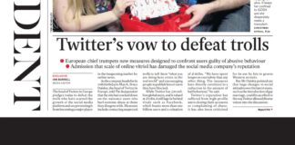 Twitter's vow to defeat trolls in The Independent
