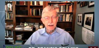 Dr. Francis Collins speaking on Hugh Hewitt Show