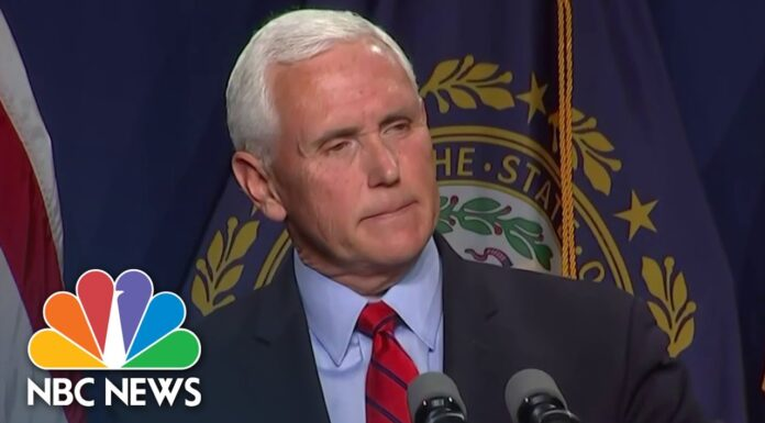 Pence Says He And Trump May Never See 'Eye To Eye' On Jan. 6 Riot