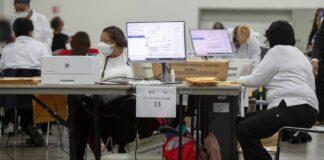 Michigan Voting Machines Were Online