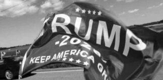 Trump 2020 Flag