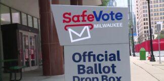 Wisconsin Absentee Ballot Drop Box