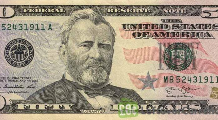 Fifty Dollar Bill