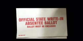 A Mail-in Absentee Ballot Envelopes Illegally Found In Dumpster Outside County Election Facility In Georgia Nov 2020