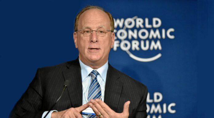 Larry Fink at the World Economic Forum
