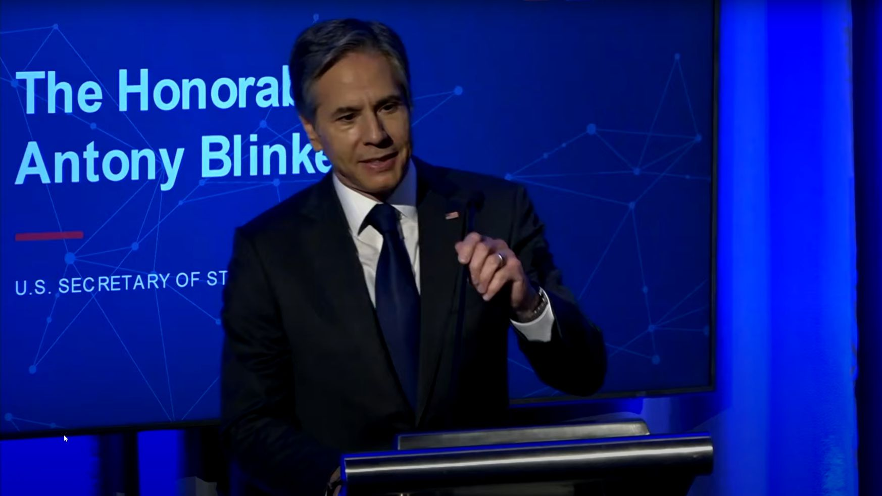 Antony Blinken NSCAI Global Emerging Technology Summit