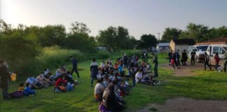 Border Patrol detains illegal aliens in La Grulla, TX