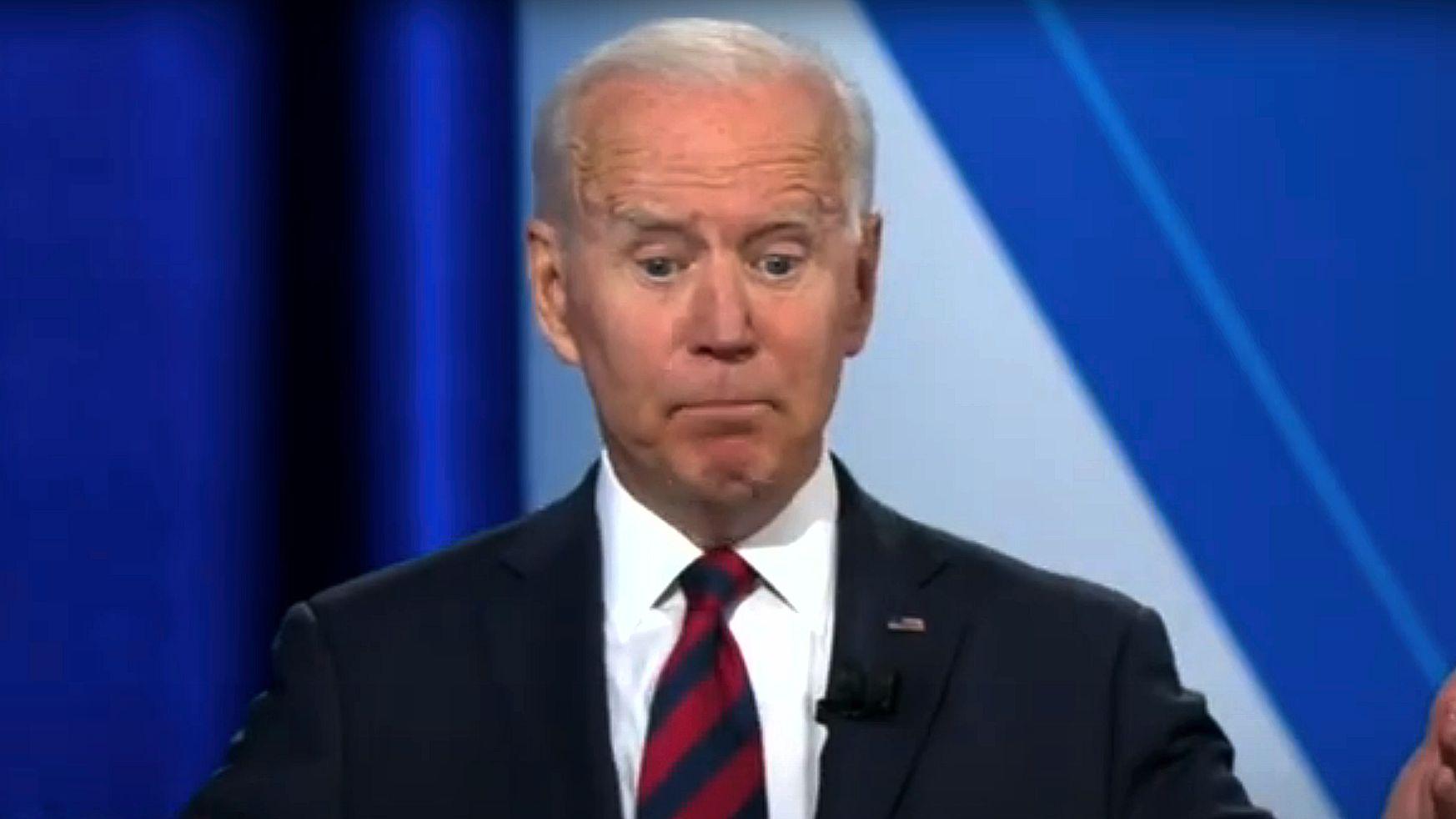 Joe Biden at CNN Townhall on July 21, 2021