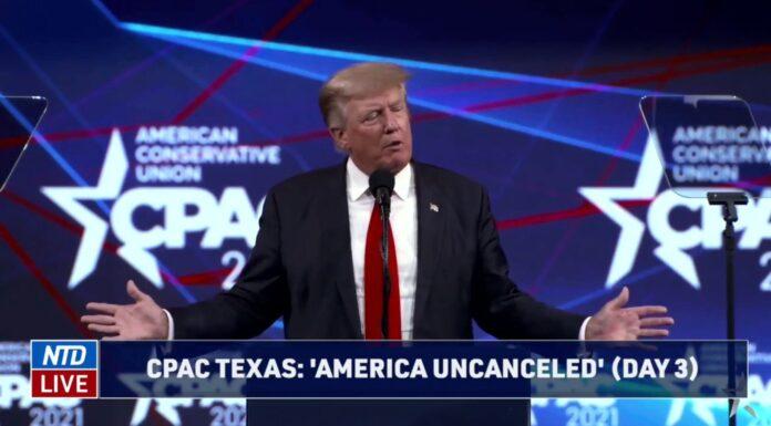 Trump speaks at CPAC Texas 2021