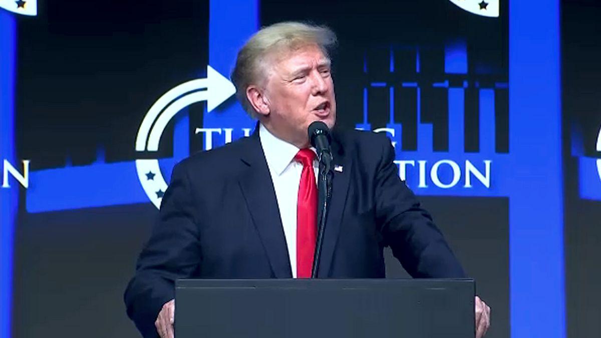 Donald Trump at Turning Point USA