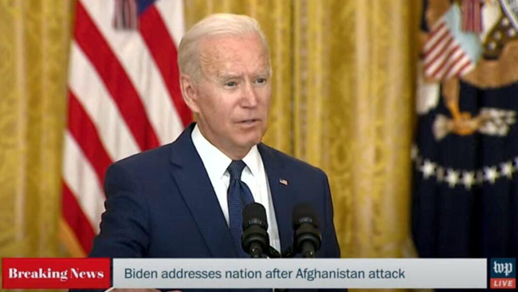 Biden addresses nation after Afghanistan attack