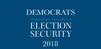 Democrats Congressional Task Force on Election Security 2018