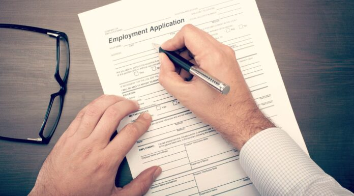 Filling Out Employment Application