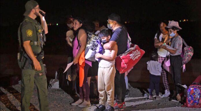 Illegal Immigrants US-Mexico Border