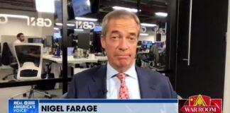 Nigel Farage on War Room