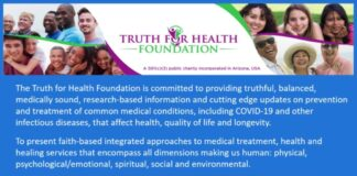 Truth For Health Foundation Press Conference