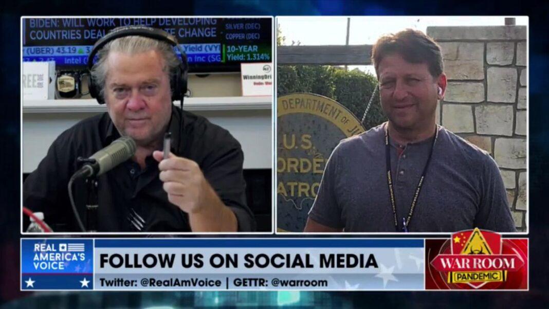 Steve Bannon and Todd Bensman on War Room