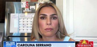 Carolina Serrano on War Room with Steve Bannon